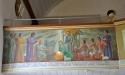Läktarbröstets målningar är utförda 1938 av konstnären Torsten Hjelm