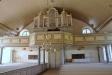 Orgelfasaden ritades 1856 av Ludvig Hawerman