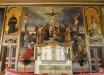 Altarpredikstolen i vitt och guld