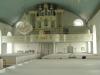 Orgeln som stått tyst i flera år men nu är återinvigd.