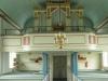 Orgelfasad från första orgeln som byggdes 1878 av Carl August Johansson