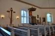 Den förra altartavlan av Erik Abrahamsson kom till 1944