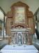 Den mycket vackra orgelfasdaen är tillverkad av Jonas Wistenius 1767