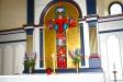 Altartavlan från 1977 av David Ralson.