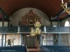 Orgelfasaden från 1799 finns kvar men nu med nytt verk