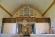 Läktarbarriären från 1639 sattes upp i nya kyrkan 1902