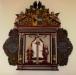•Altaruppsats i barock från gamla kyrkan utförd 1705.