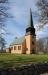 Jäts nya kyrka i jugendstil.
