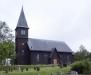 Aneboda kyrka uppförd i trä