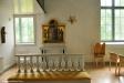 Ett extra altare under läktaren