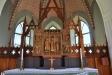 Altarskåpet från c:a 1475 är kyrkan främsta prydnad