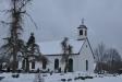 Träkyrkan håller i alla väder.