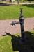 Draken vaktar vattenpumpen