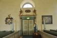 Kororgeln står i f.d. dopkapellet som är byggt av delar från 1739 års predikstol