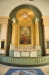 Altartavla av Olle Hjortzberg i kyrkans andaktsrum