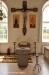 Brudbänk och golvur