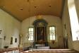 Den gamla altartavlan från 1600-talet användes som sådan till 1778
