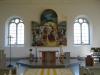 Altarbilden är målad av Monica Strandberg