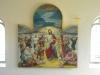 Altartavlan fungerar som ett skåp då huvudmotivet döljs genom att halvdörrarna stängs under fastan