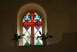 Glasmålningen i koret