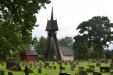 Hagby kyrkas magnifika klockstapel