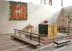 varmt och välkomnande kyrkorum