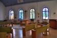 Kyrkorummet är på ´tvären´