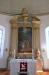 Altartavlan ´Jesu dop´ är målad av Jonas Berggren