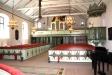 Kyrkorummet från altaret.