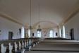 Gamla predikstolen står nu under läktaren