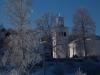 Ukna kyrka i vinterskryd