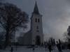 Dalhelmns kyrka i December