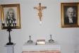 Det lilla altaret i sakristian.