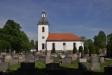 Herrskapsläktare och predikstol med uppgång från sakristian