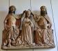 Slulpturgrupp från ett senmedeltida altarskåp