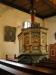 Predikstolen är daterad 1660