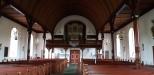 Interiör mot orgelläktaren maj 2020