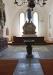 Två stilar: fint altarfönster