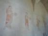 Detalj av kalkmålningarna.