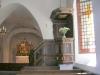 Fönstret står på glänt när kyrkan är öppen