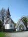 Kyrkan inklusive stiglucka