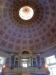 Taket i kyrkan är mycket imponerande. Foto av Östen Westman.