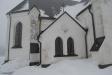 Mycket vacker arkitektur i Rödeby kyrka
