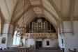 lika gammal som kyrkobyggnaden. Har nu fått ny dopskål och restaurerats.