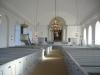 Interiör av Tvings kyrka.Foto:Bernt Fransson