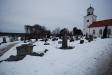 Underbar utsikt från Tvings kyrkogård