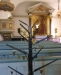 Träd med dopänglar.Fin symbolik!