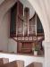 Orgeln i ´nykyrkan´.