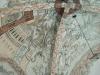 Detalj av kalkmålningar i korvalvet.