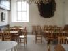 Kyrkkaffebord i norra korsarmen ´nykyrkan´.